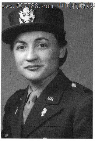 二战美军陆*妇女队少校奖章和领章全套
