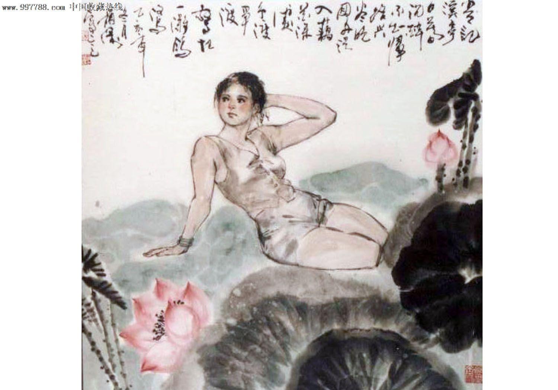 杨韵涛人物画