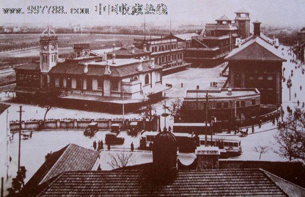 一组20世纪30年代旧上海的跑马场的老图片_价格200元【金谷收藏社】_第3张_7788收藏__中国收藏热线