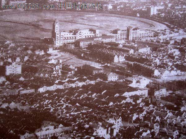一组20世纪30年代旧上海的跑马场的老图片_价格200元【金谷收藏社】_第6张_7788收藏__中国收藏热线