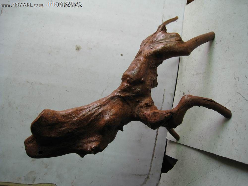天然根雕,天狗造型