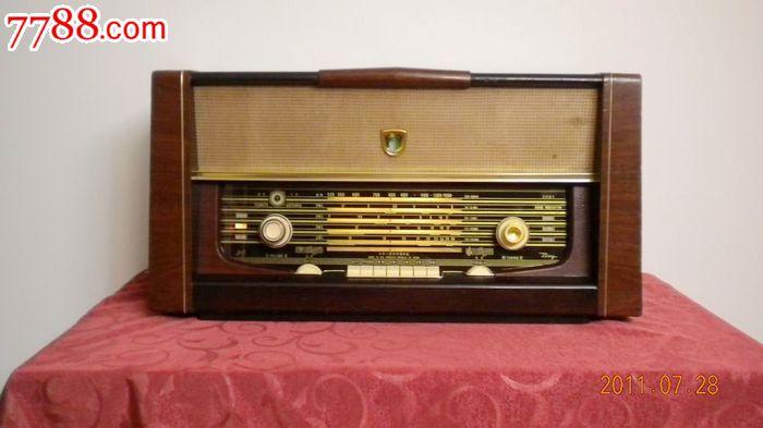 收藏级国产牡丹911电子管收音机
