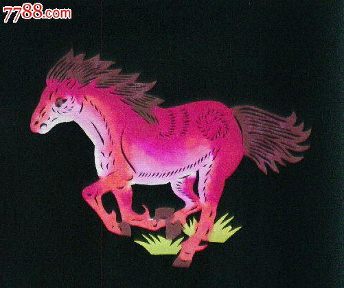 马彩色手绘