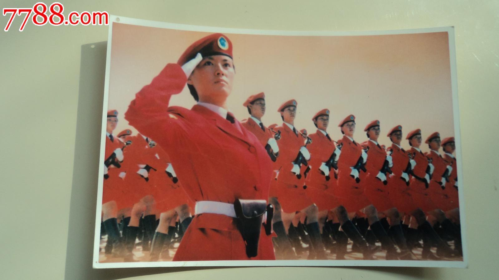 国庆50年阅兵彩照
