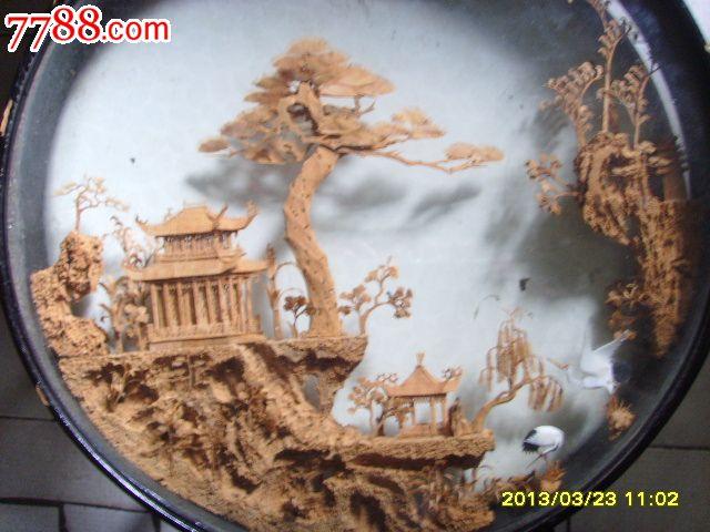 大型木雕摆件