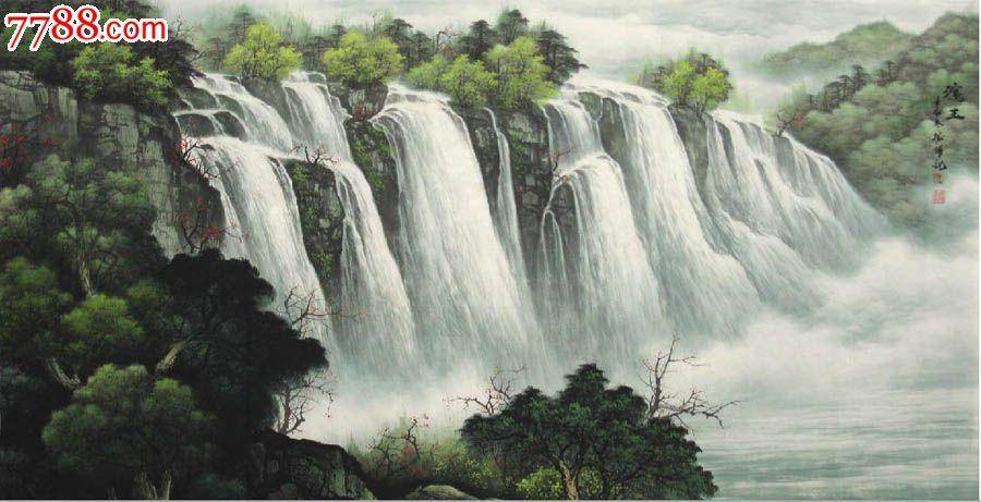 壁纸 风景 旅游 瀑布 山水 桌面 900_461