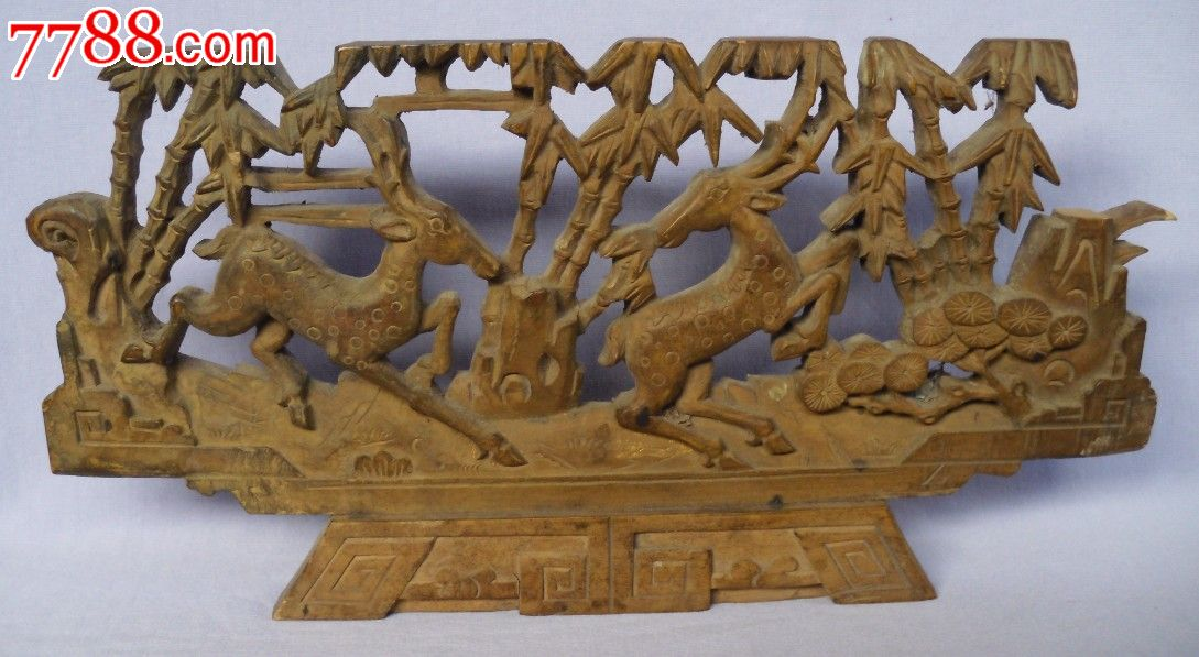 木雕竹节葫芦图片欣赏