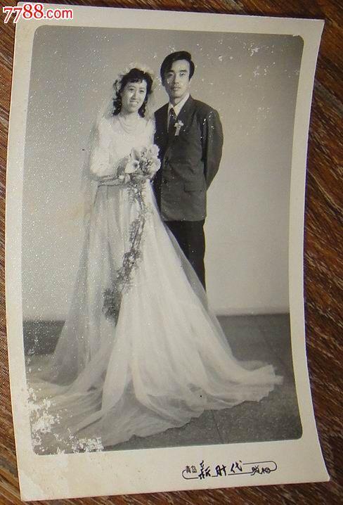 结婚婚纱照片