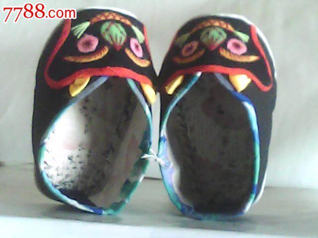 纯手工制作,民国儿童老虎鞋