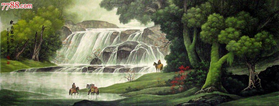 壁纸 风景 旅游 瀑布 山水 桌面 900_342