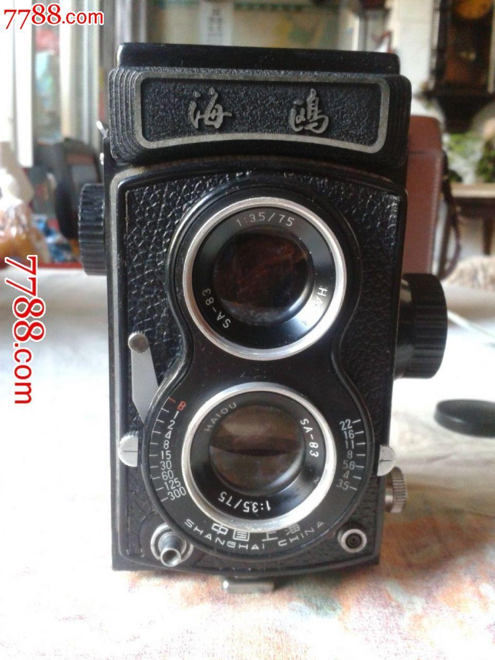 上海海鸥双镜头4b型照相机