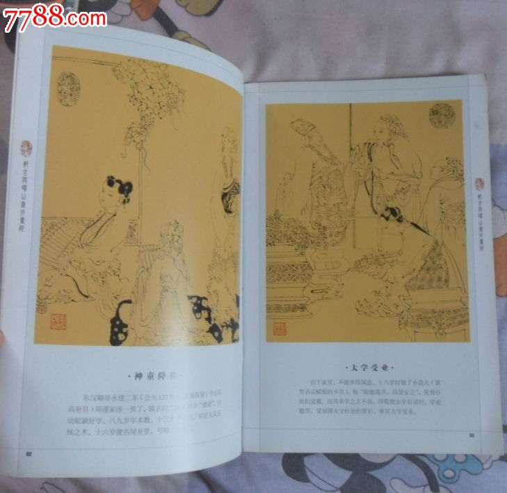 郑玄与崂山康城书院-se17190843-综合绘画类画册-零售图片