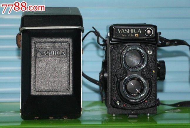 编号:双反相机: se17230447,01 属性:胶片双反相机,,文革(67-76),,其他金属冲压,,雅西卡,,日本,,, 简介:Yashica自60年代开始生产双镜头中幅相机给爱好老相机的人,喜欢收藏的人,成色看图。相机成色度:9新皮套,镜头盖,齐全。以前叔叔用的,后来一直放在家,保存很好。QQ:16798798有喜欢的朋友与我联系,价格可谈.