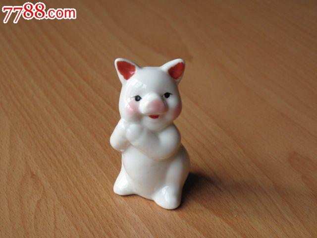 招财猪---小动物摆件,高7cm