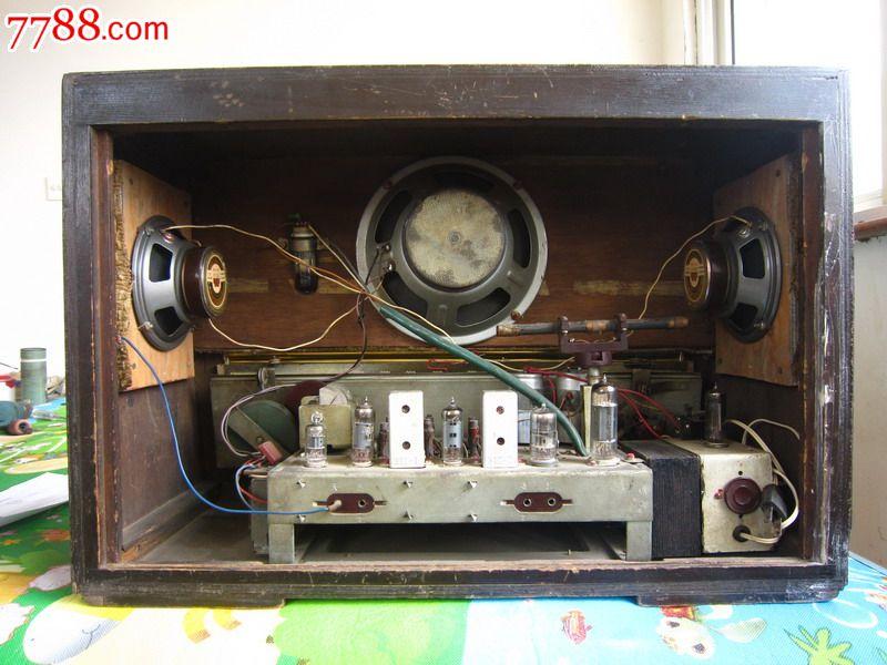 东方红82-y型大型电子管收音机