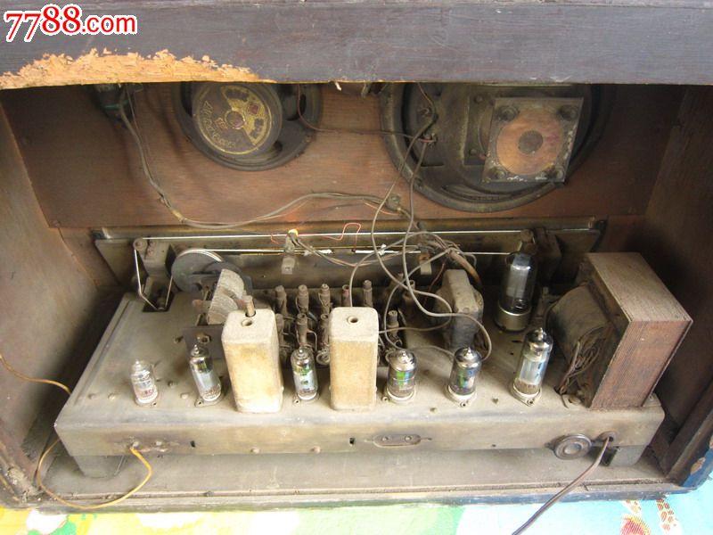 东方红大型电子管收音机