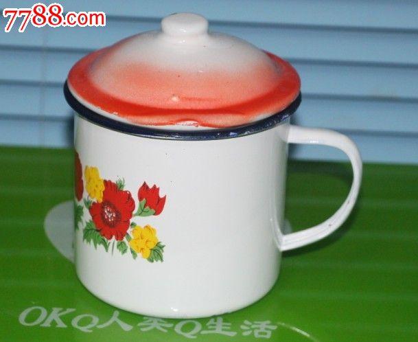 80-90年代家庭铁水杯怀旧水杯小水杯壶印花水杯缸老式样水杯子_第1张图片