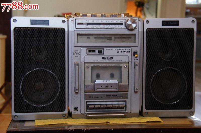 极少见的日本原装日立9200收录机