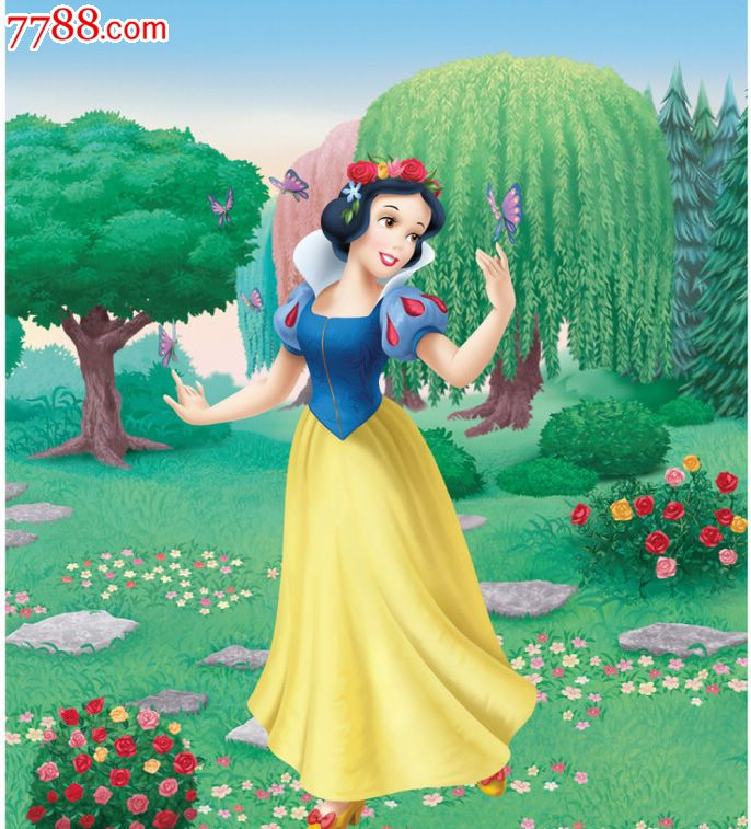动画 白雪公主 是以 格林童话 中哪个故事为背景的图片