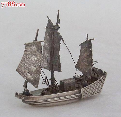 木質三桿帆船設計圖