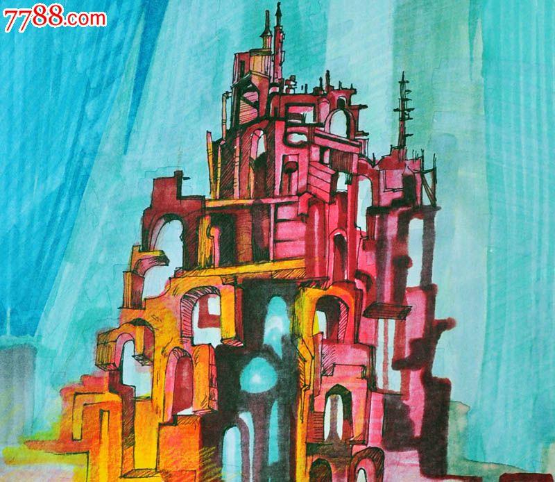 原创手绘漫画—城堡