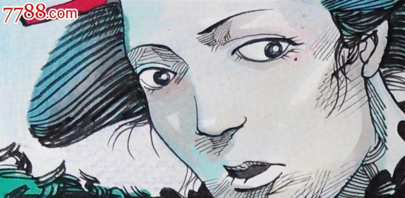 原创手绘漫画—女人,漫画原稿