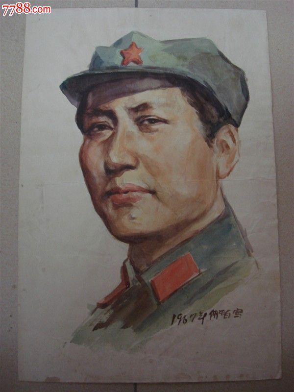 红色题材人物手绘