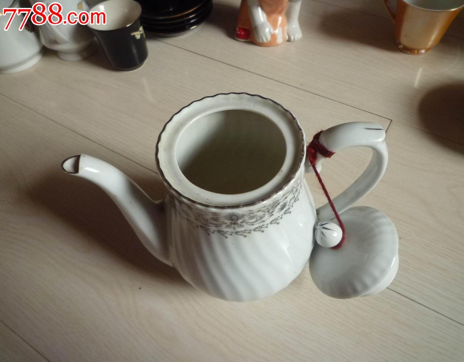界牌波浪花纹茶壶