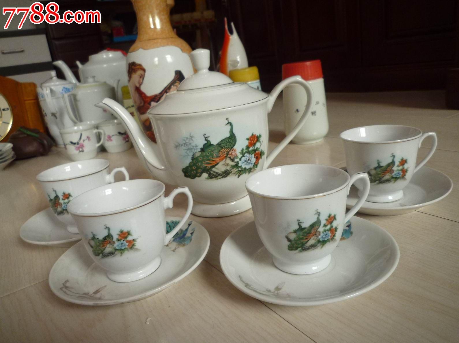 孔雀牡丹图案茶壶一套_第2张_7788收藏__中国收藏热线