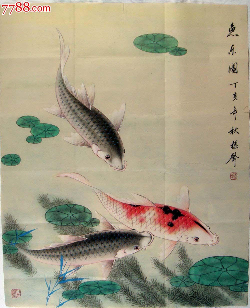 3024 品种: 花鸟国画原作-花鸟国画原作 属性: 虫鱼画原画,,工笔重彩