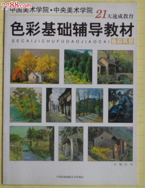 色彩基础辅导教材·色彩风景①,中*美院