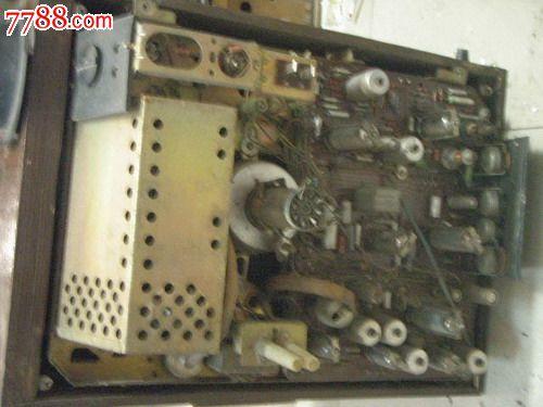 前苏联黑白电视机