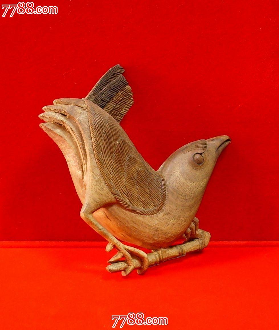 木雕喜鹊---半面雕_价格260.0000元_第4张_7788收藏__中国收藏热线