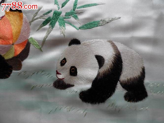竹林淸趣.熊猫,竹子