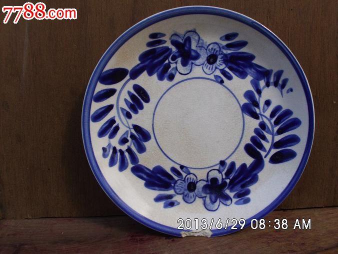碟子-青花瓷--se18407620-零售-7788收藏__中国收藏