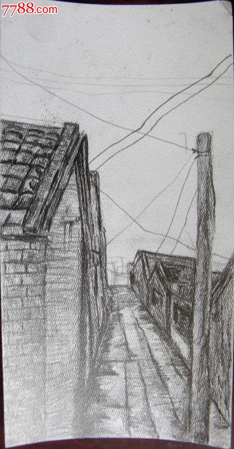 素描 速写 建筑写生 线描 建筑轮廓 卡通 手绘 风景 背景 矢量 城市图片