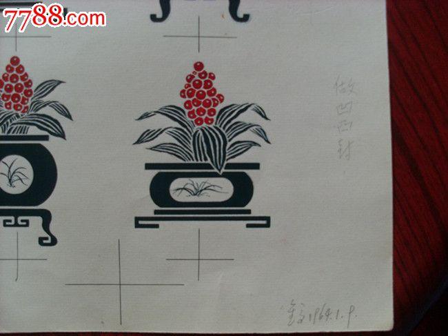 凹凸信封设计手绘原稿
