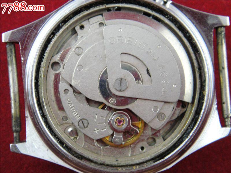白面双狮全自动双日历男机械表机芯46941