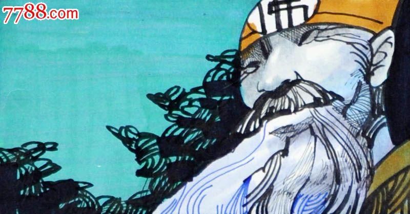 原创手绘漫画—白蛇传