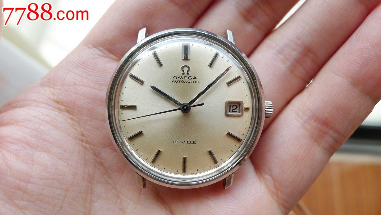 欧米茄(omega)手表 碟飞系列机械男表424.10.37.20.01图片