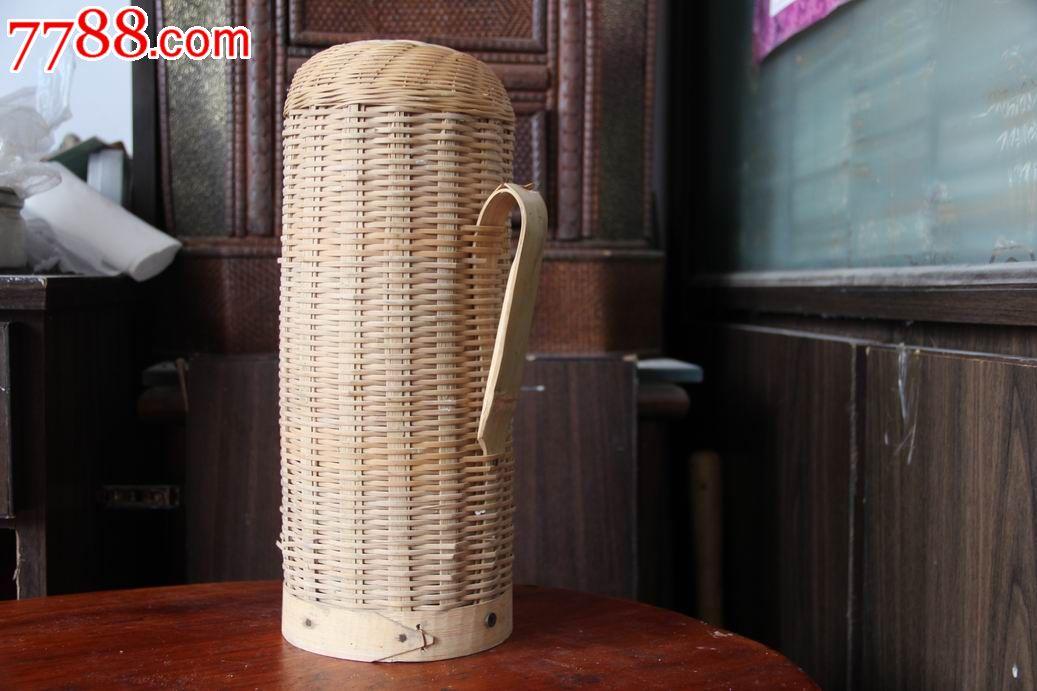竹篇水瓶壳.老式水瓶图片