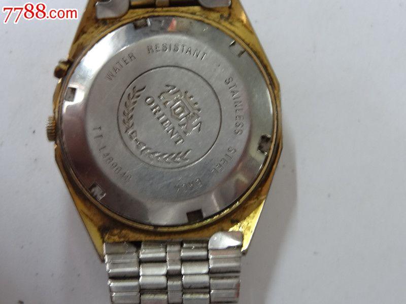 日本3a双狮夜光手表图片