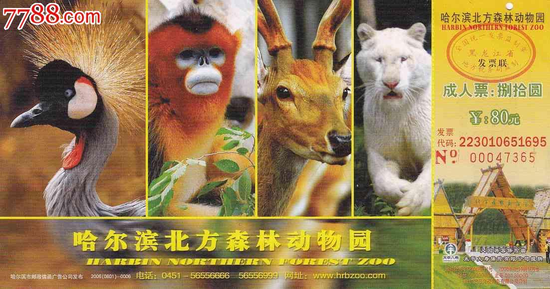 哈尔滨北方森林动物园06版