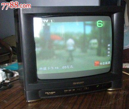 日本夏普14寸彩色电视机
