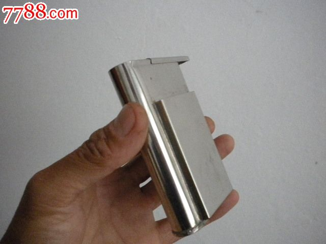 白钢叶烟盒/手工烟盒/不锈钢叶烟盒/白钢旱烟盒