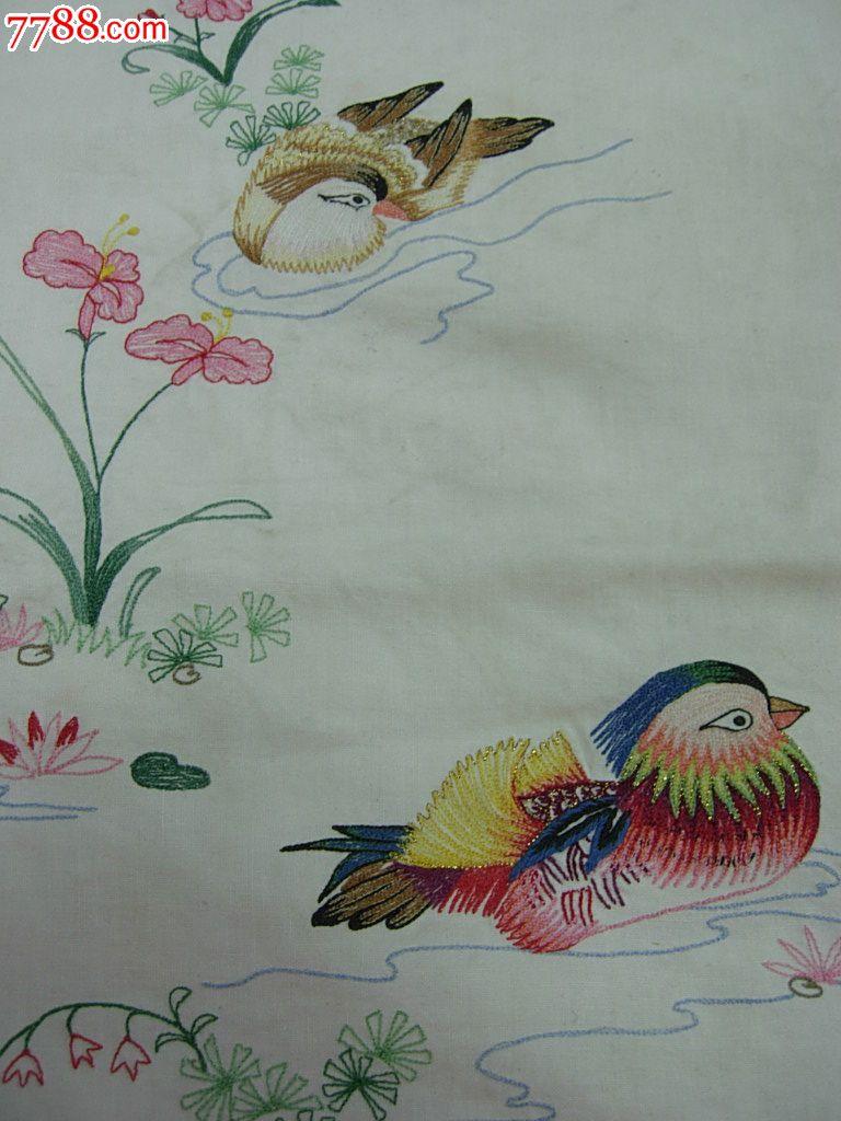 7米,鸳鸯蜻蜓刺绣门帘