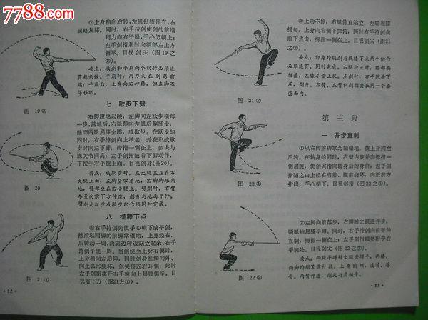 初级剑术.武术体育保健