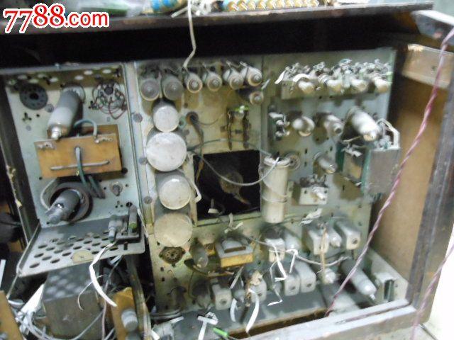 海燕电子管黑白电视机