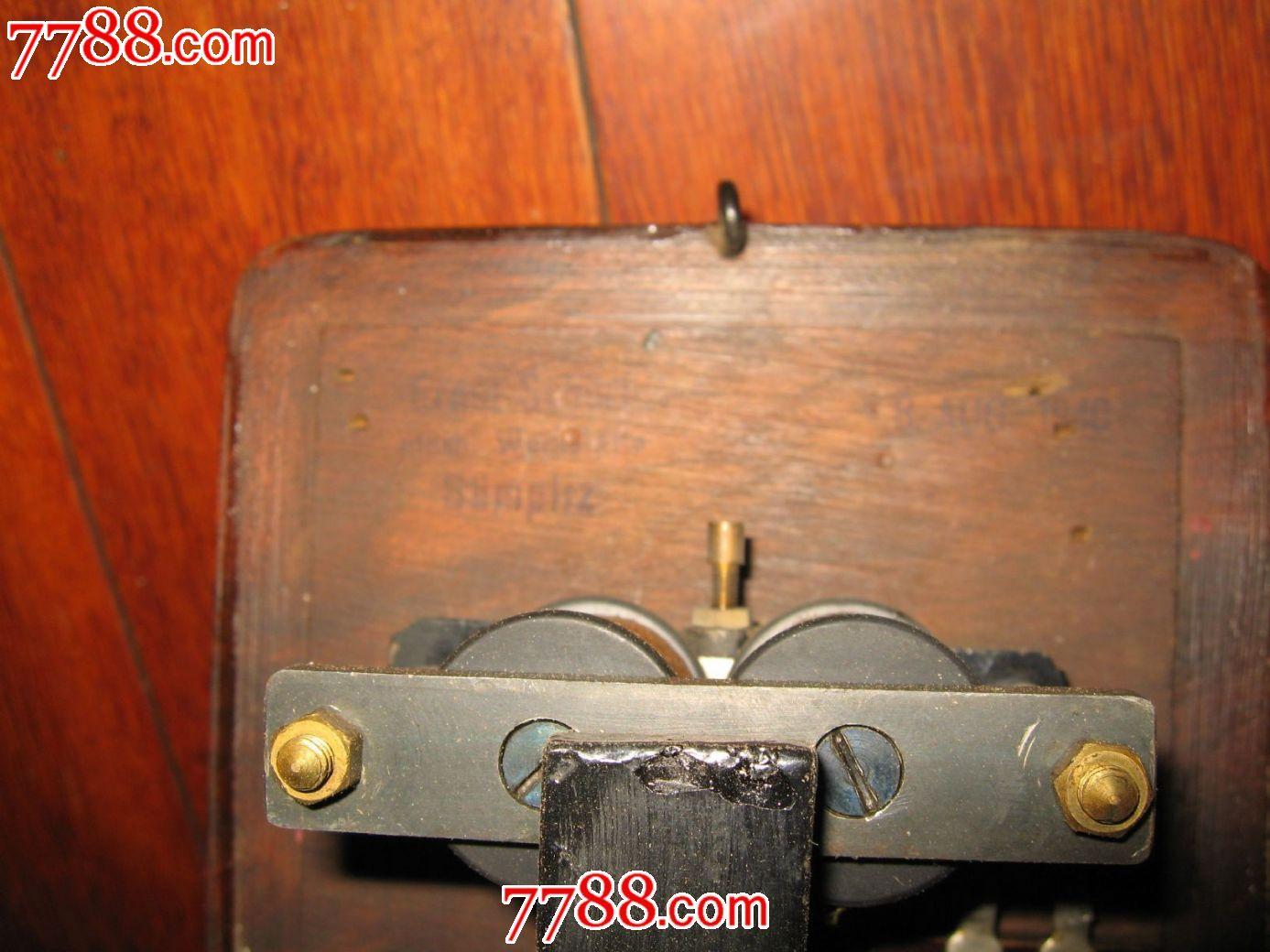 民国进口电话机铃