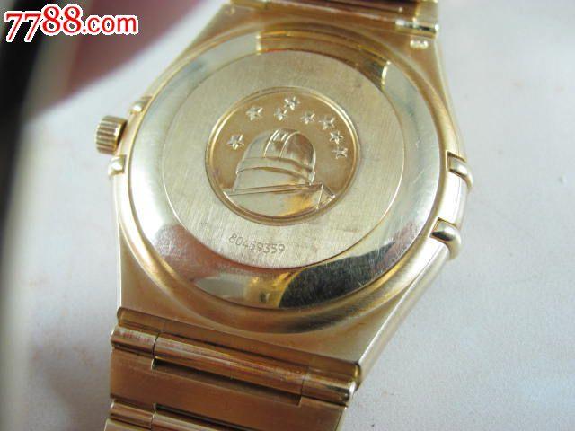 欧米茄18k实金星座自动机械男表-se19981887-手表图片